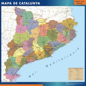 mapa magnetico  catalunya