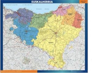 mapa magnetico  euskal herria