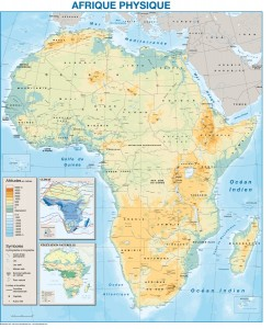 mapa magnetico africa fisica