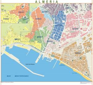 mapa magnetico  Almería