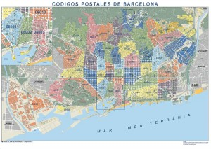 barcelona mapa magnetico