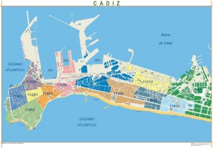 mapa magnetico Cadiz