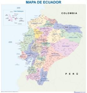Ecuadormapa magnetico