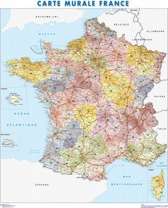 mapa magnetico francia
