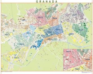 mapa magnetico Granada