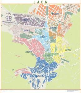 mapa magnetico Jaen