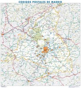 madrid provincia mapa magnetico