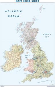 mapa magnetico Reino Unido