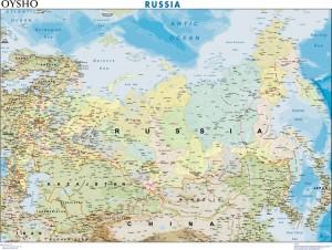mapa magnetico Rusia