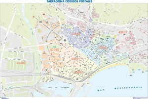 mapa magnetico Tarragona