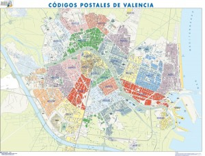 mapa magnetico Valencia
