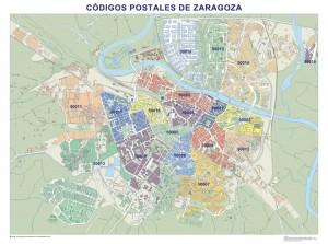 mapa magnetico  Zaragoza