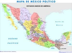 mapa magnetico Mexico