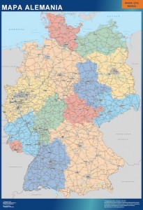mapa magnetico alemania carreteras