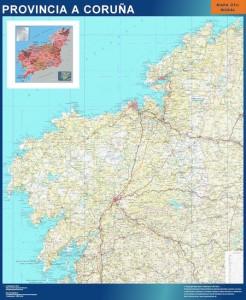 A Coruña mapa magnetico