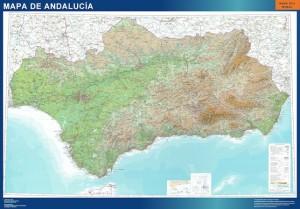 Andalucia mapa magnetico