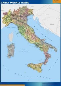 Italia mapa magnetico
