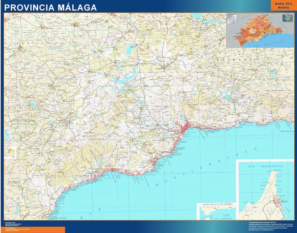 mapa magnetico malaga