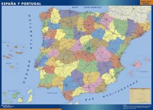mapa magnetico Espana provincial