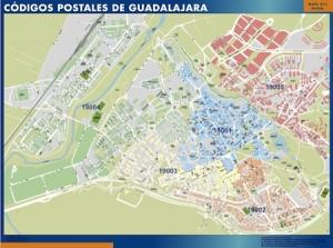 mapa magnetico Guadalajara