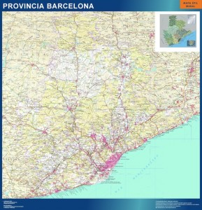 mapa magnetico barcelona mapas carreteras