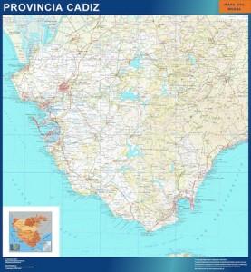 mapa magnetico cadiz carreteras
