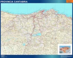 mapa magnetico cantabria carreteras