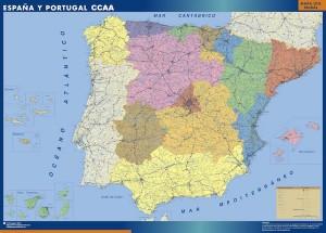 mapa magnetico comunidades autónomas espana