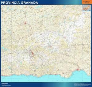 mapa magnetico granada mapa carreteras