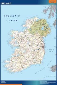 mapa magnetico irlanda