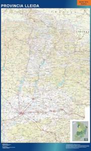 lleida mapa carreteras mapa magnetico