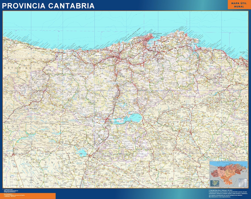 mapa magnetico cantabria