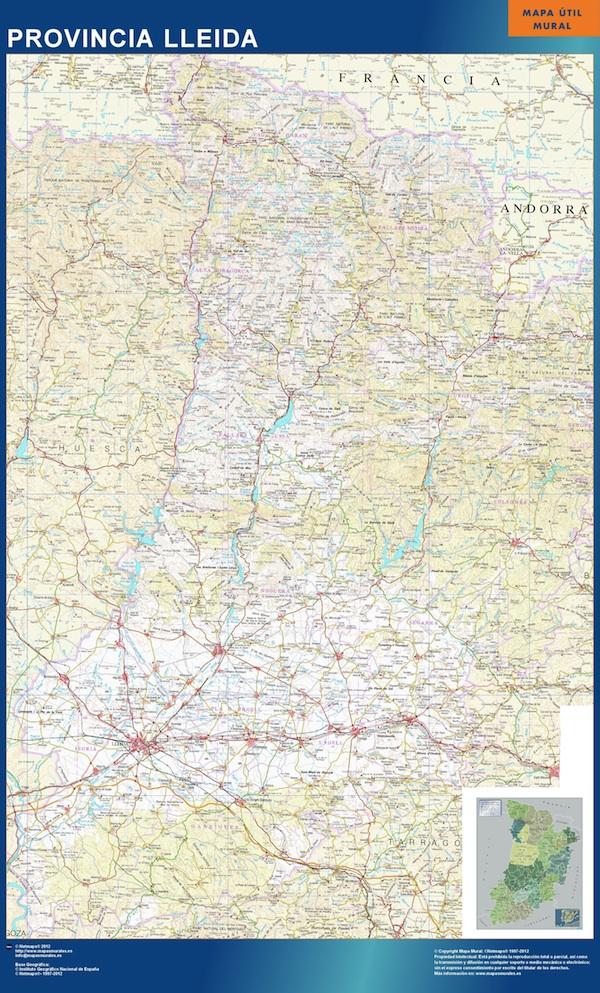 mapa magnetico lleida