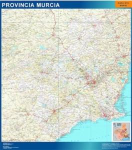mapa magnetico murcia mapa carreteras