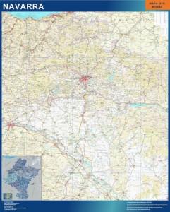 mapa magnetico navarra mapa carreteras