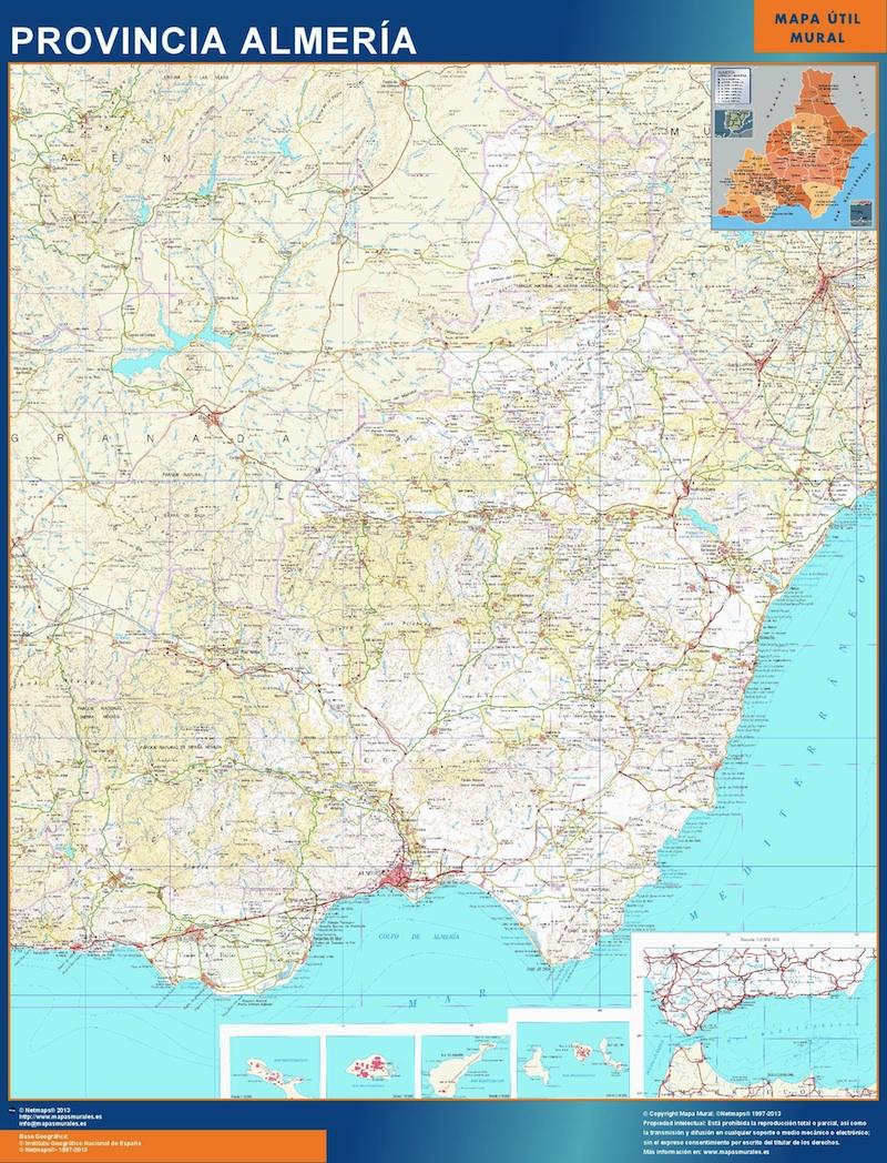 mapa magnetico almeria