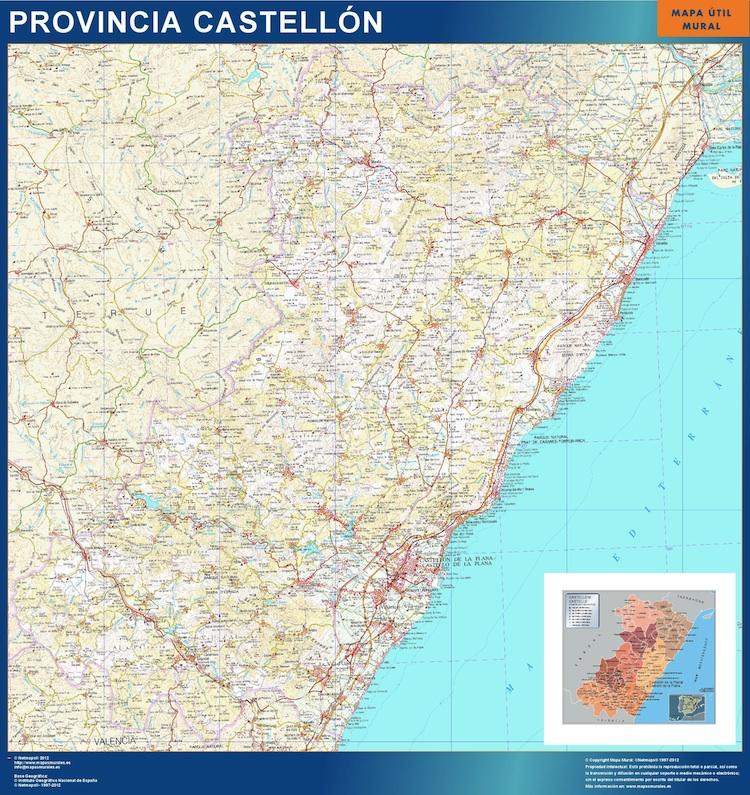 mapa magnetico castellon