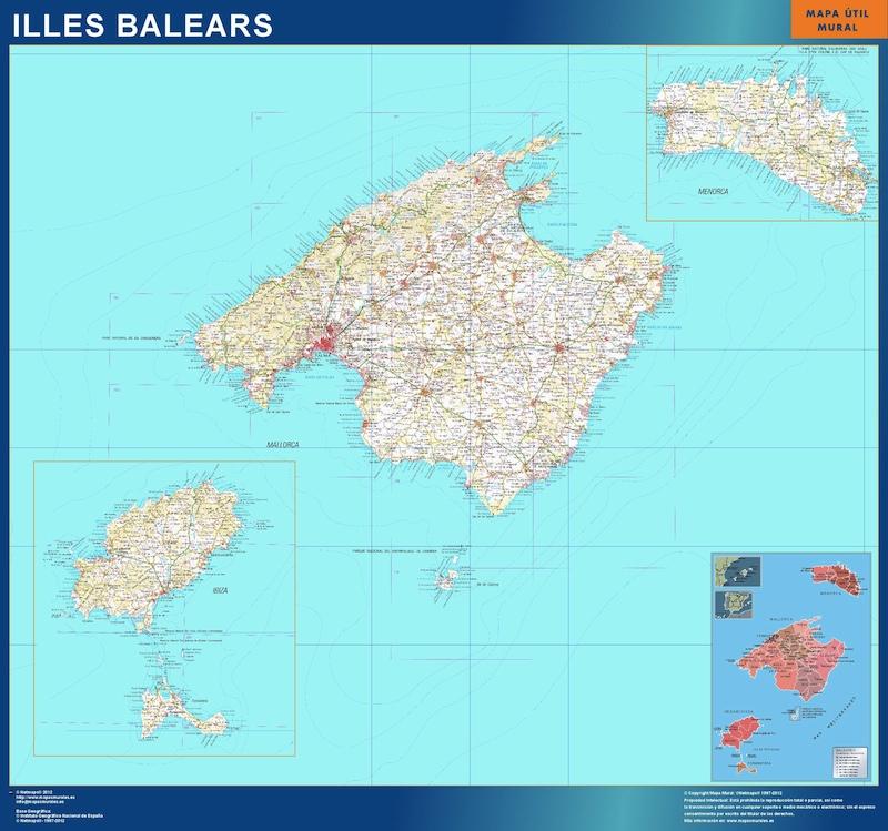 mapa magnetico islas baleares