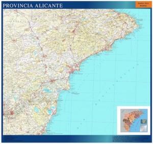 mapa magnetico provincia alicante