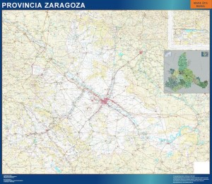 mapa magnetico Zaragoza Provincia