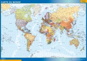mapa magnetico Mapamundi frances