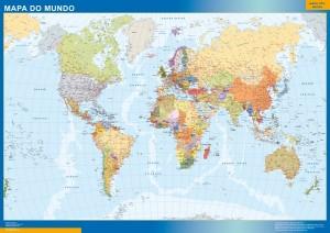 mapa magnetico Mapamundi Portugues