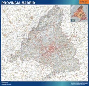 mapa magnetico provincia madrid