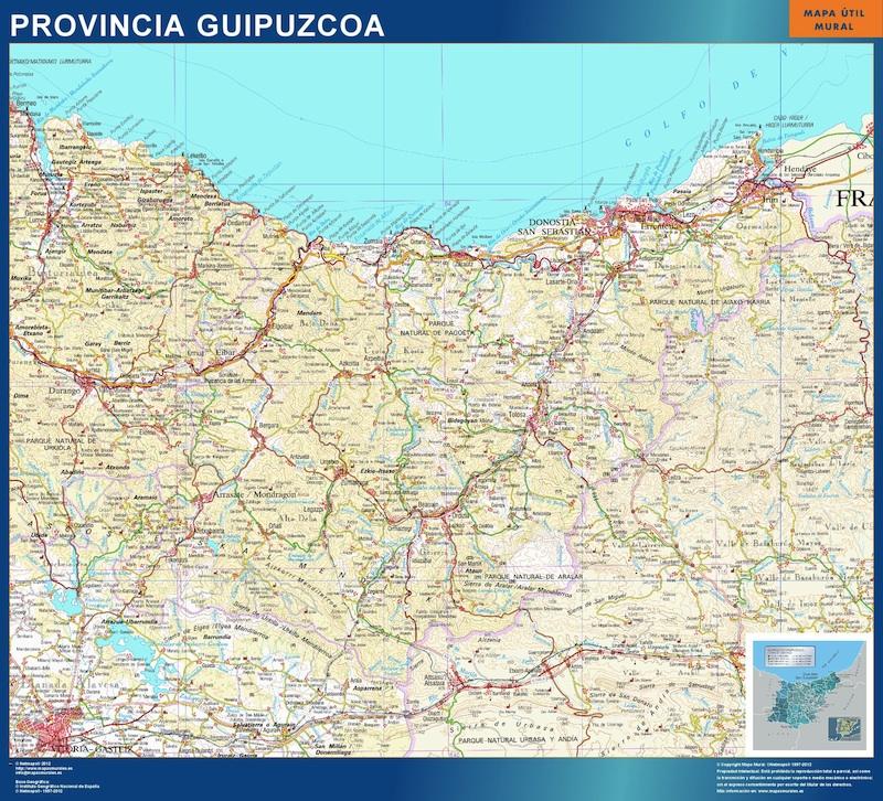 mapa magnetico guipuzcoa