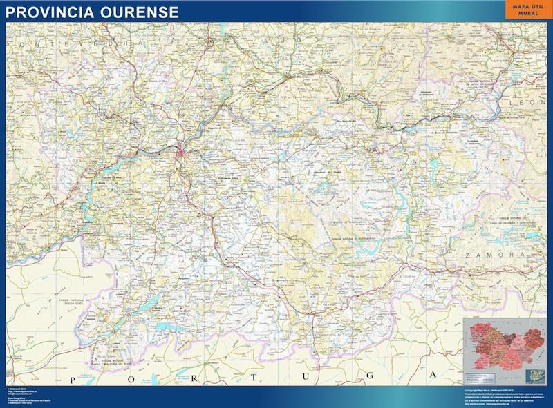 mapa magnetico ourense