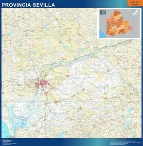 mapa magnetico provincia sevilla