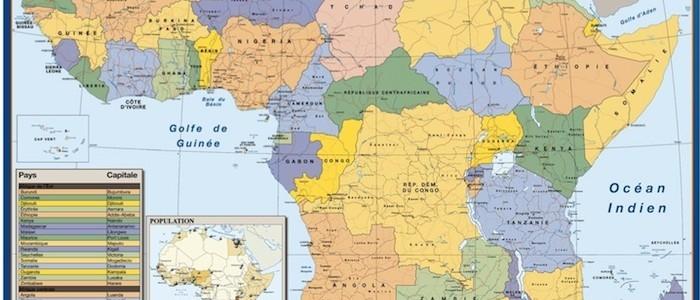 Mapa Africa Politico