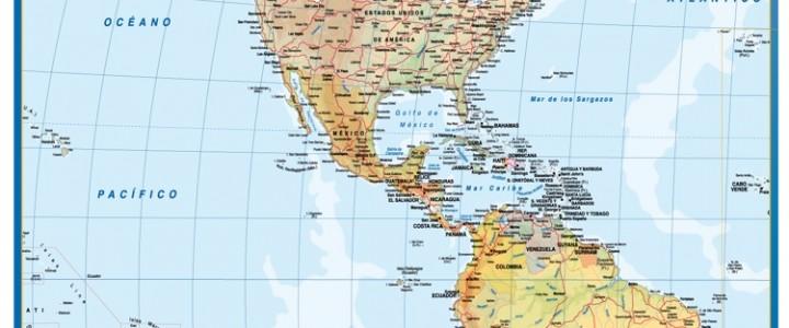 Mapa America magnetico