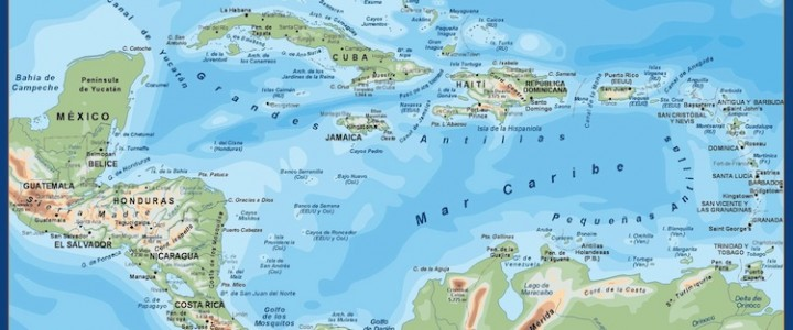 Mapa Centroamerica