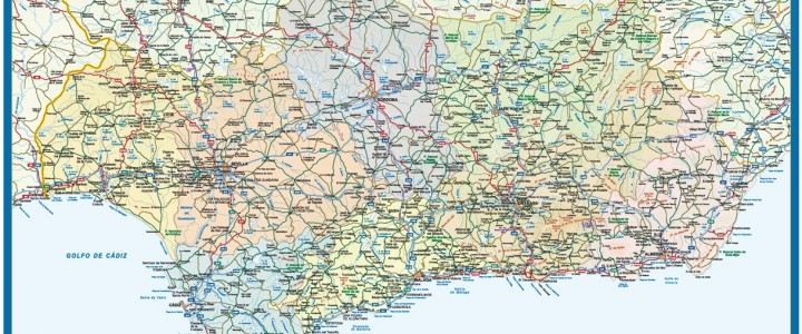 Mapa Magnetico Andalucia